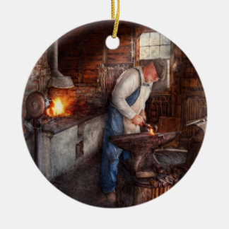 Blacksmith - The Smith Ceramic Ornament