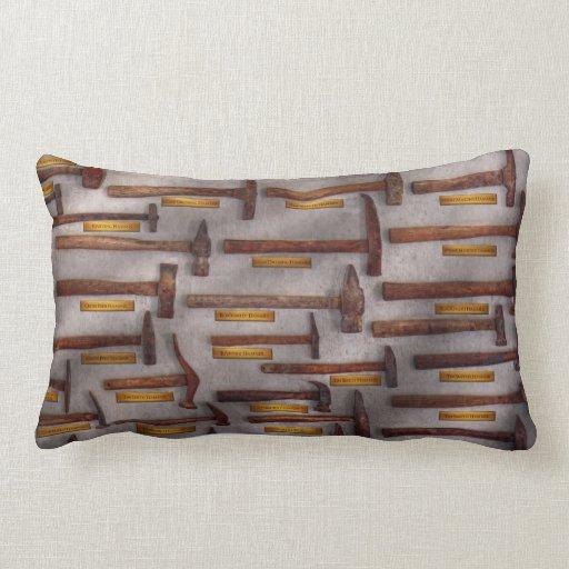 Blacksmith - Tools - Pounding headache Throw Pillow