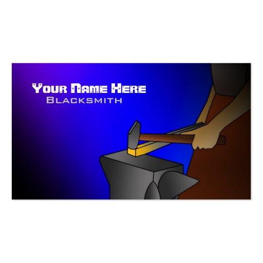 Blacksmithing Business Cards