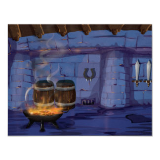 Blacksmiths Forge Card