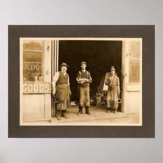 Blacksmiths Poster