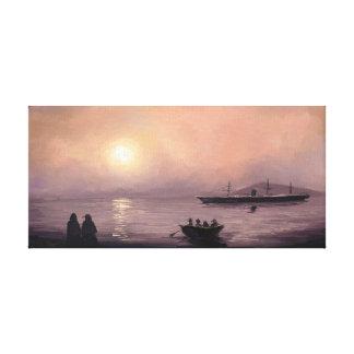Blacksod Bay, 1883 Canvas Print