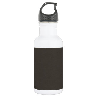 BlackSolidPaper BLACK SOLID COLOR BACKGROUND WALLP Stainless Steel Water Bottle