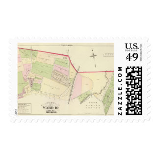 Blackstone Canal North Burial Ground Batcheller Stamps