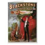 Blackstone, Magician principal del mundo, 1934 Tarjeta De Felicitación
