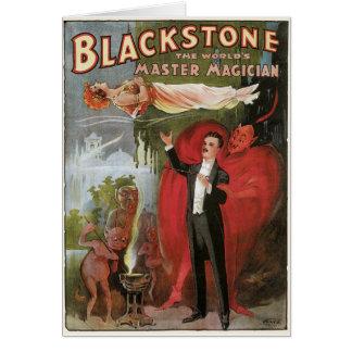 Blackstone, Magician principal del mundo, 1934 Tarjetas