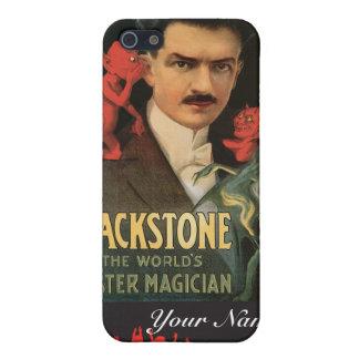 Blackstone ~ Master Magician Vintage Magic Act Case For iPhone SE/5/5s
