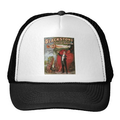 Blackstone, The World's Master Magician, 1934 Trucker Hat
