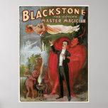 Blackstone, The World's Master Magician, 1934 Poster
