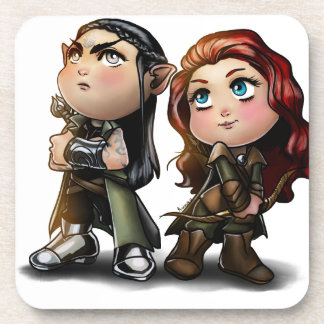 blackthorn and rowen drink coaster