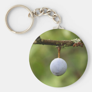 Blackthorn Fruit Keychain