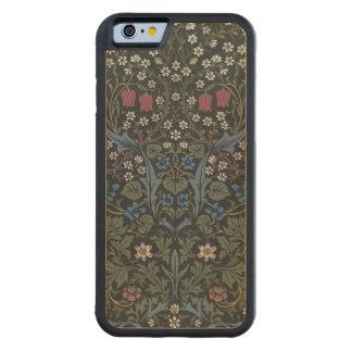 'Blackthorn' wallpaper design, 1892 Carved Maple iPhone 6 Bumper Case