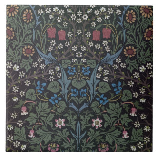 'Blackthorn' wallpaper design, 1892 Tile