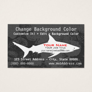 Blacktip Shark Business Card
