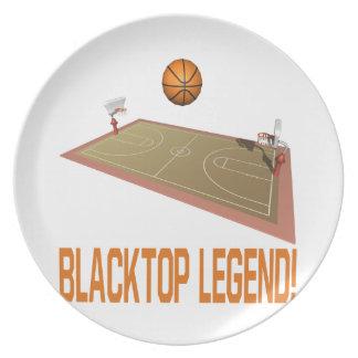 Blacktop Legend Plate