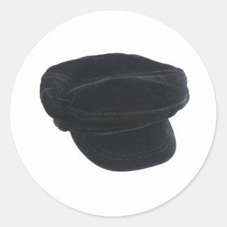 BlackVelvetHat080709 Classic Round Sticker