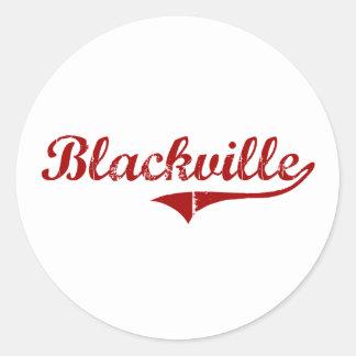 Blackville South Carolina Classic Design Classic Round Sticker