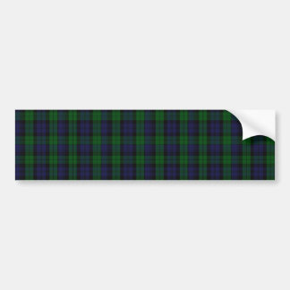Blackwatch Tartan Bumper Sticker