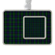 Blackwatch Tartan Christmas Ornament