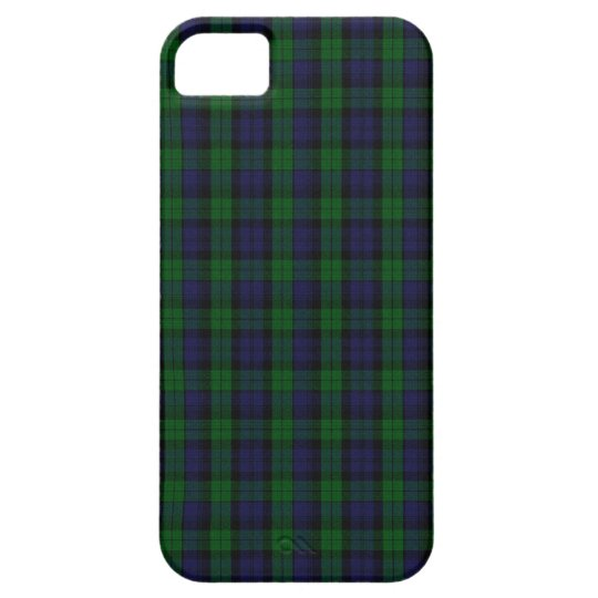 Blackwatch Tartan iPhone SE/5/5s Case