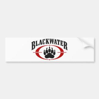 Blackwater Bumper Sticker