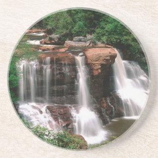 Blackwater Falls, West Virginia, scenic, Drink Coaster