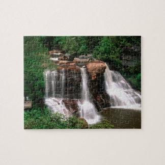 Blackwater Falls, West Virginia, scenic, Jigsaw Puzzle