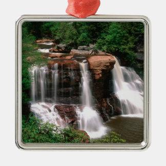 Blackwater Falls, West Virginia, scenic, Metal Ornament