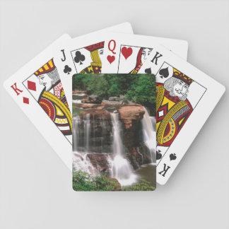Blackwater Falls, West Virginia, scenic, Poker Deck