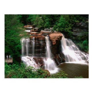 Blackwater Falls, West Virginia, scenic, Postcard