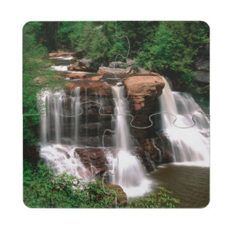 Blackwater Falls, West Virginia, scenic, Puzzle Coaster