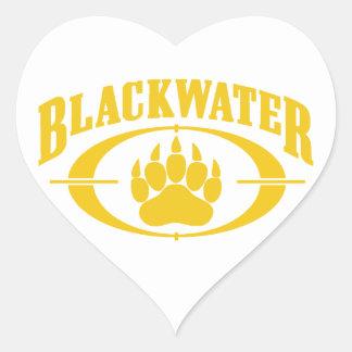 Blackwater Gold Heart Sticker