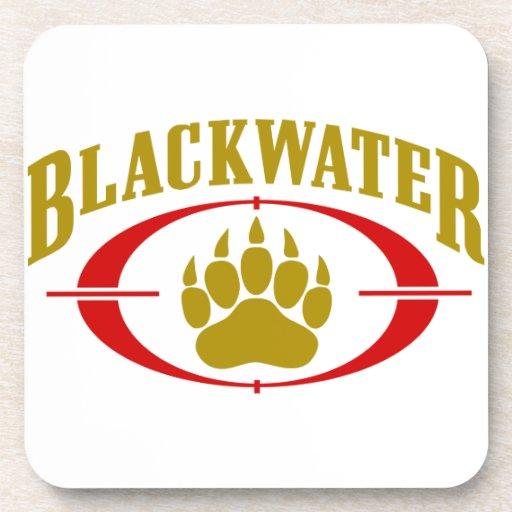 Blackwater USA Gold Drink Coaster