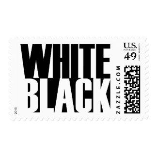 BlackWhite Postage Stamps