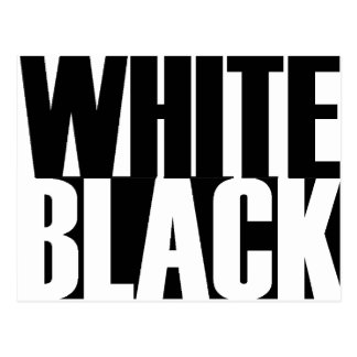 BlackWhite Postcard