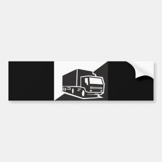 blackwhitetruck car bumper sticker