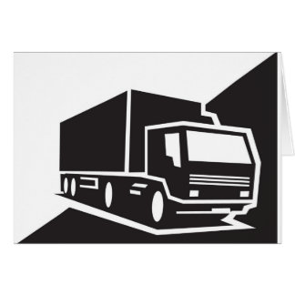 blackwhitetruck card