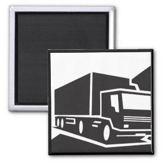 blackwhitetruck magnet