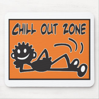 Blacky Chill Out Mouse Pad