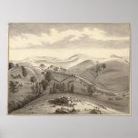 Blacow farm, Mission Peak Poster