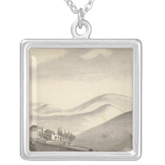 Blacow farm, Mission Peak Silver Plated Necklace