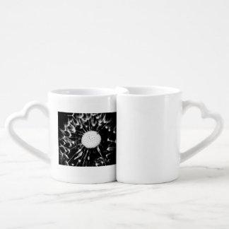 blacq del diente de león set de tazas de café
