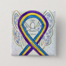 Bladder Cancer Angel Awareness Ribbon Pins