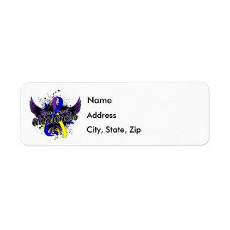 Bladder Cancer Awareness 16 Label
