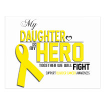 Bladder  Cancer Awareness: daughter Postcard