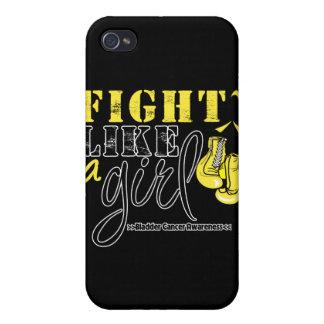 Bladder Cancer Awareness Fight Like a Girl iPhone 4 Case