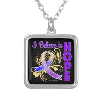 Bladder Cancer Awareness I Believe in Hope Pendants