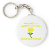 Bladder Cancer Awareness Keychain