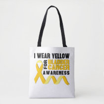 Bladder Cancer Awareness Month T-shirt Yellow Tote Bag