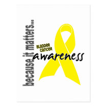Bladder Cancer Awareness Postcard
